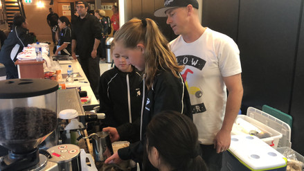 Karate Oceania 2018 - Next generation baristas