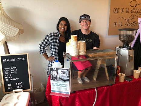 MoveSpace Pop up Cafe 2018