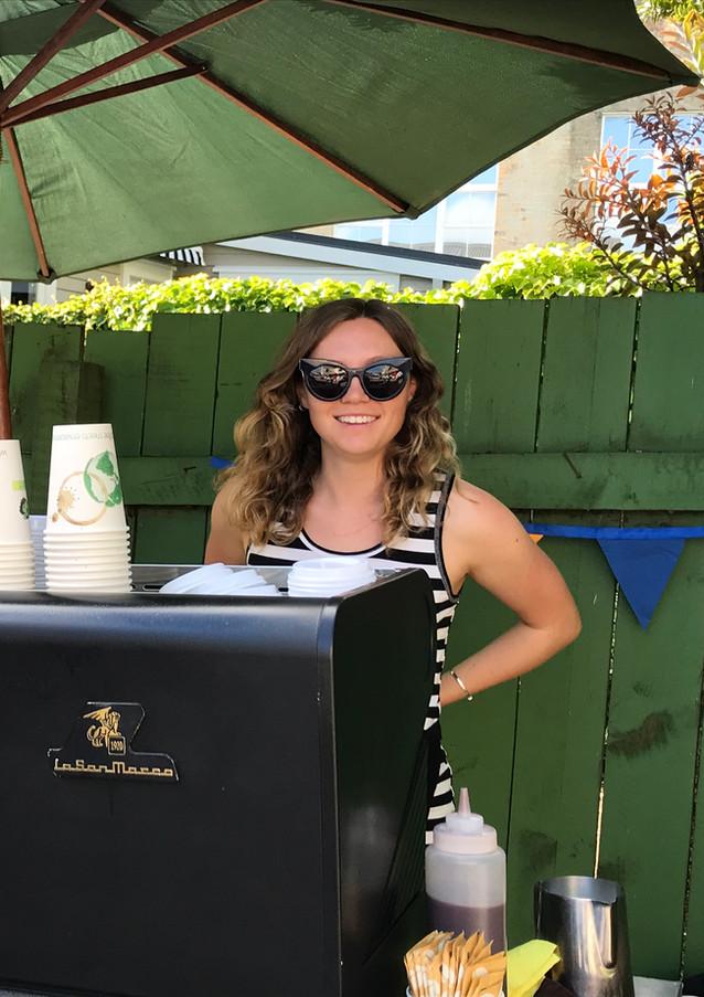 Pop up cafe day rental for craft co-op