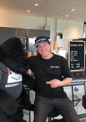 Mighty Ape 2018 Pop up cafe
