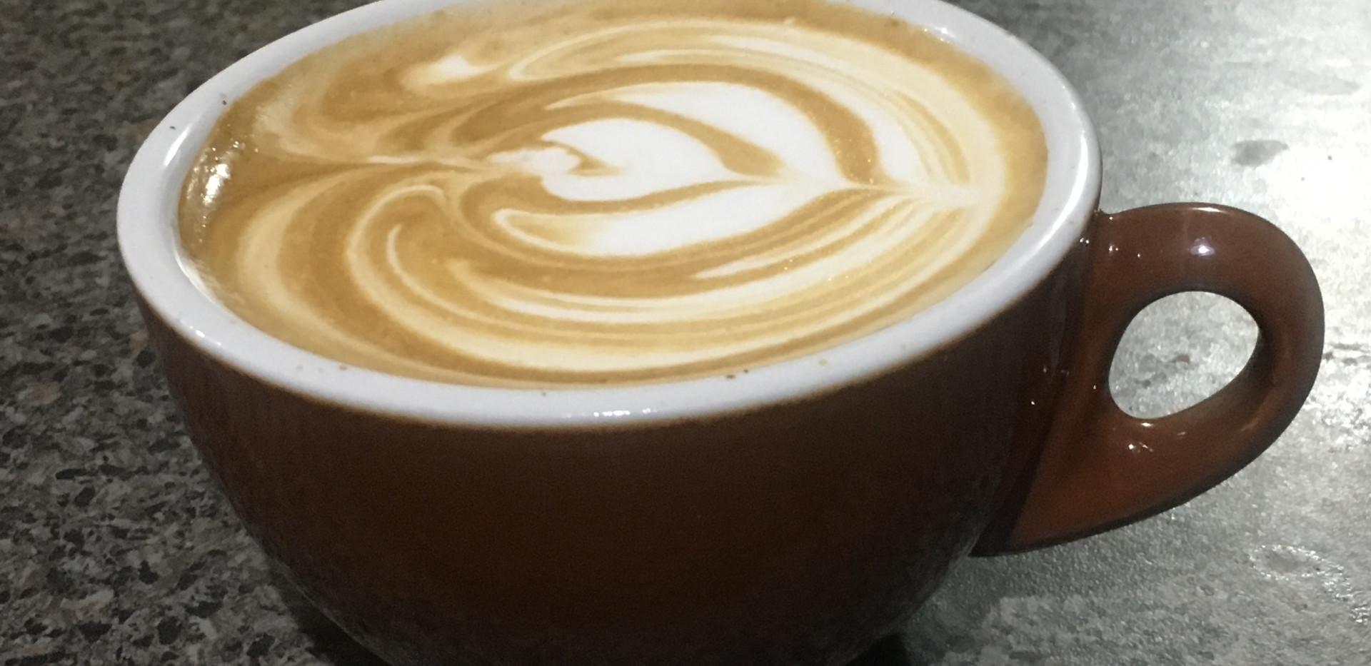 Coffee training - make the perfect flat