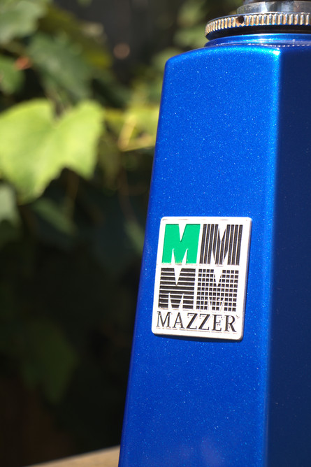 Mazzer - Blue Metallic 2013