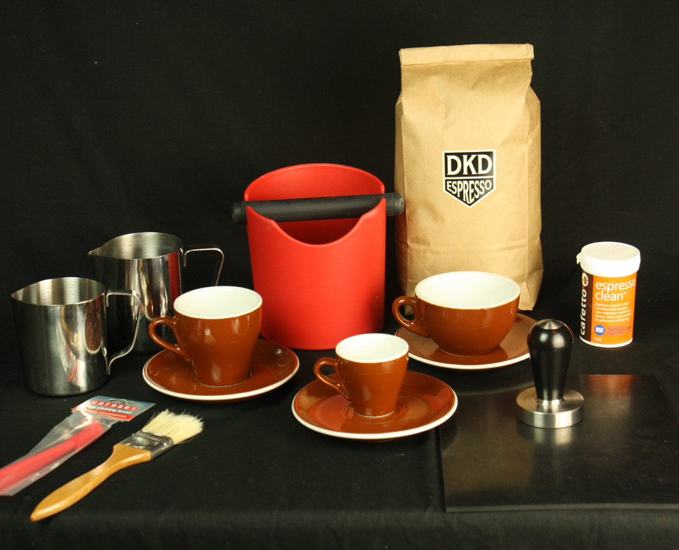 Home Barista package accessories
