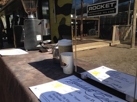 Lock n Load Paintball Pop up cafe 2014