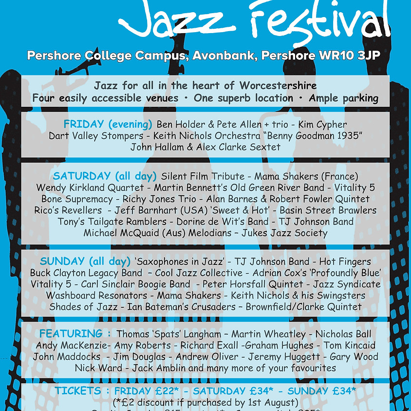 Pershore Jazz Festival 2019