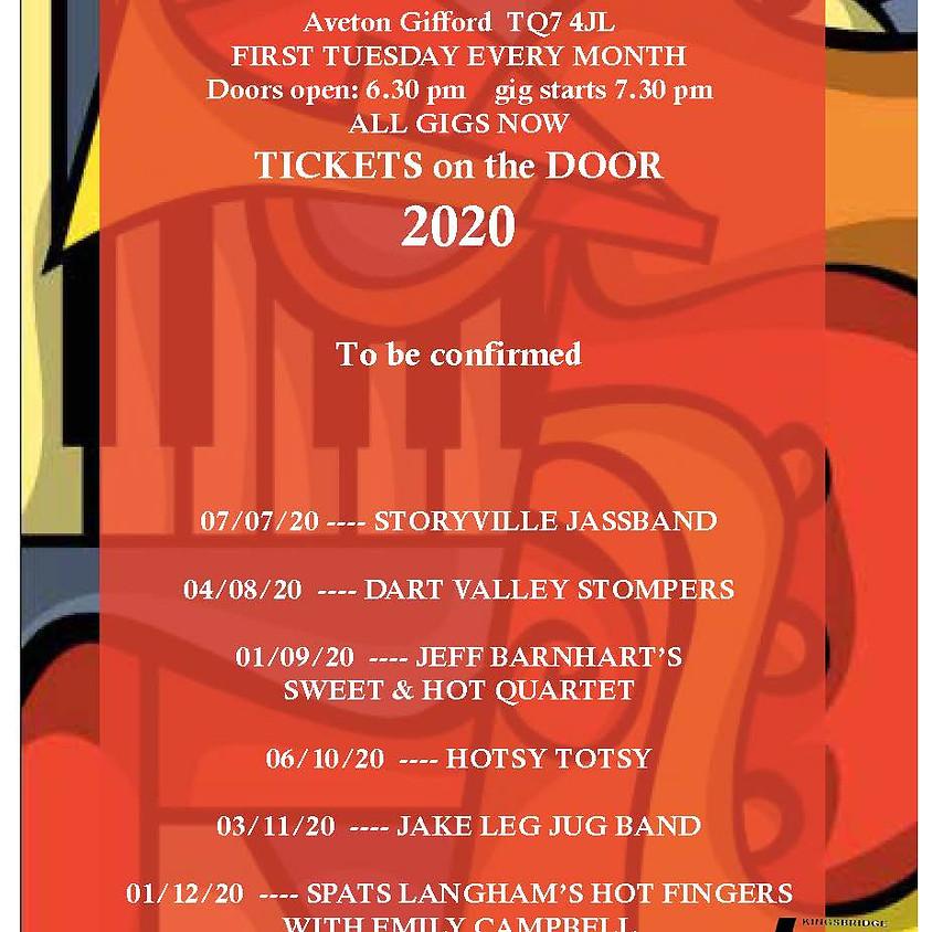 KJC Live Jazz Programme 2020