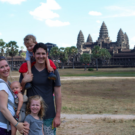 Siem Reap, Cambodia with Kids