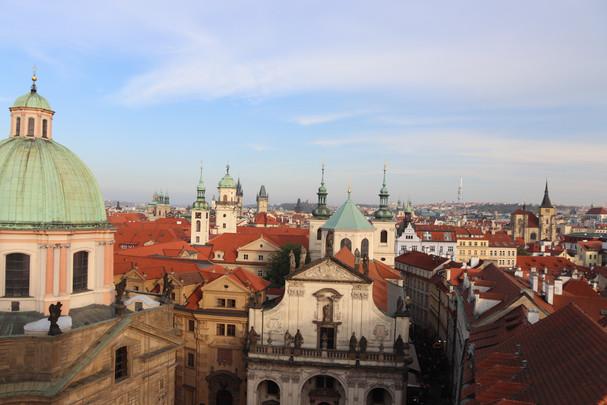 Prague by dusk