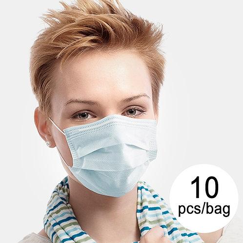 10x Chirugische Einweg - Maske 3- Lagig
