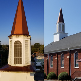 Before & After Steeple Wash