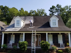 Washing A Roof