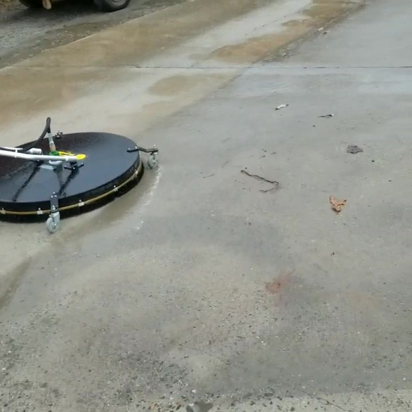 Surface Cleaning Concrete