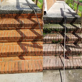 Brick Mold & Mildew Removal