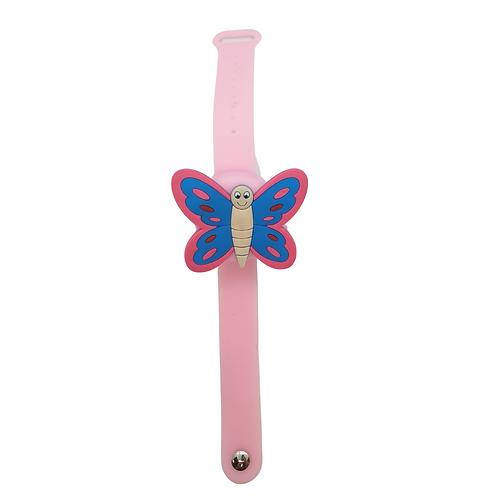 Cleanbrace / Desinfektionsarmband Schmetterling