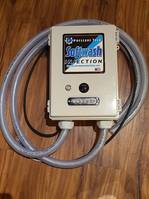 Remote Softwash Injection Box