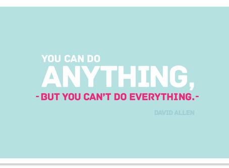 Create Your 'Do Not Do' List