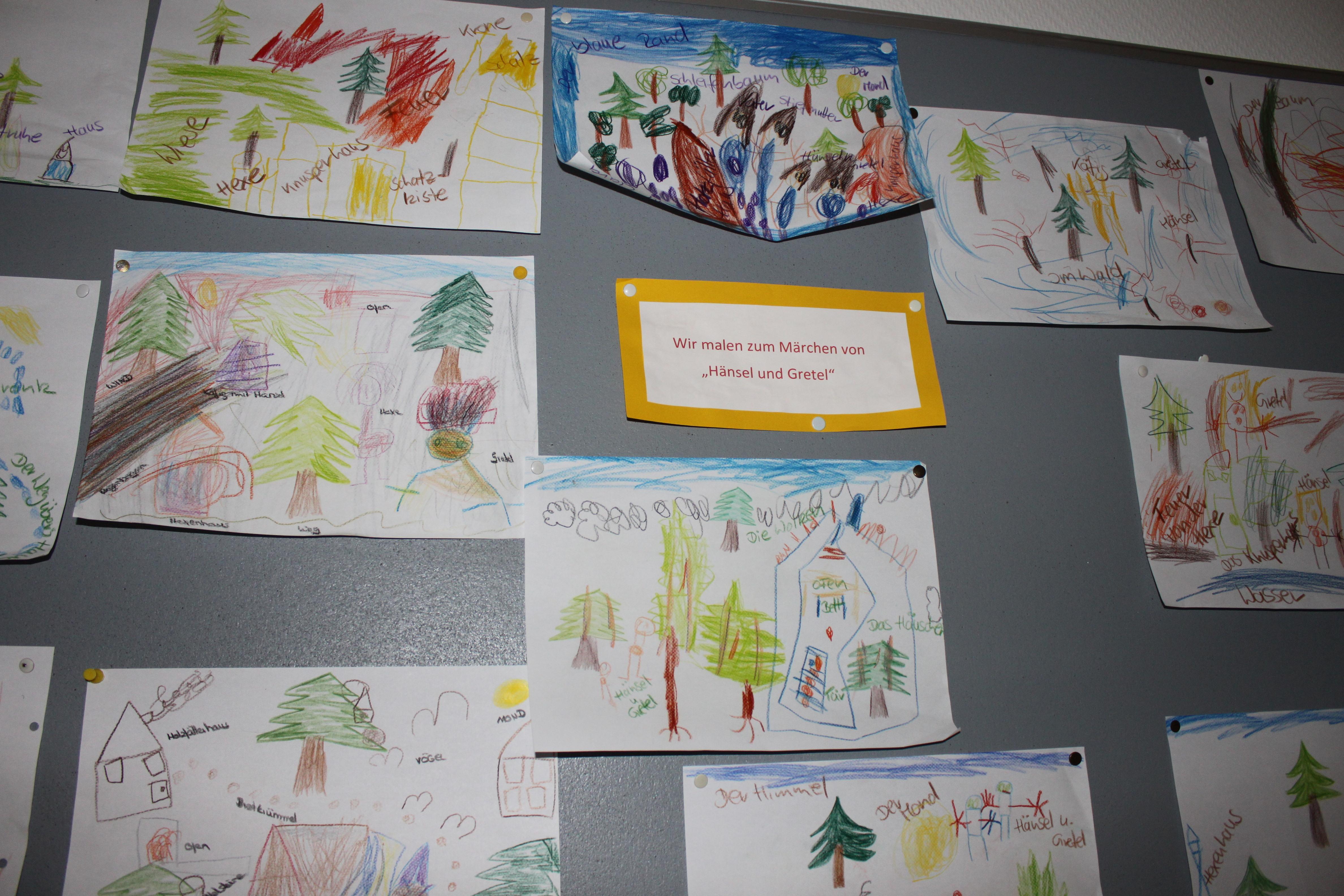 Kindergarten Kunstwerke
