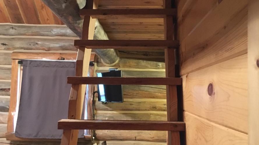 Cabin 1 loft ladder