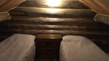 Cabin 1 loft beds