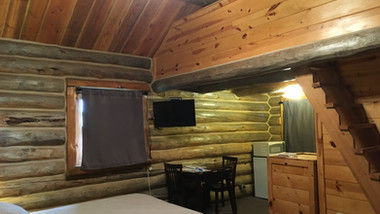 Cabin 1 from entrance