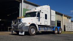 Freightliner sleeper conversion