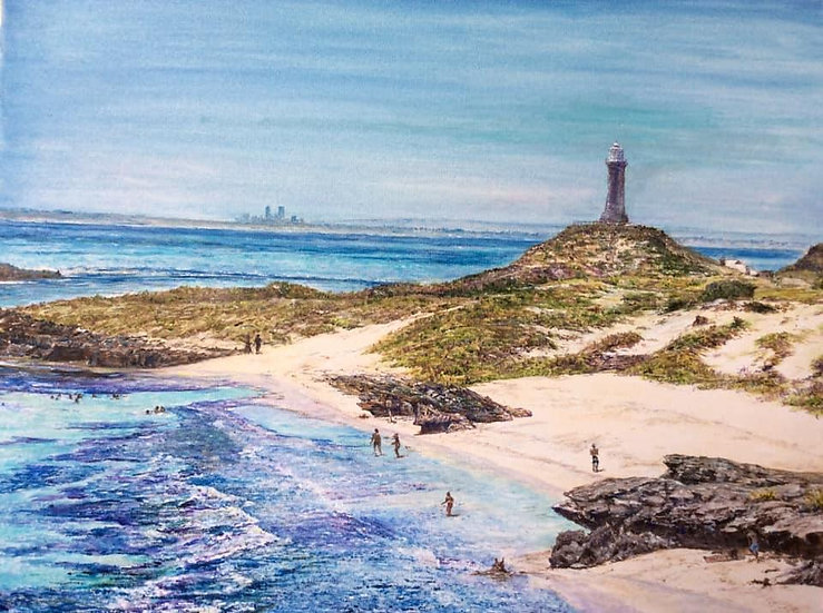 Rottnest Tranquility - Oil on Canvas - Henry Wood