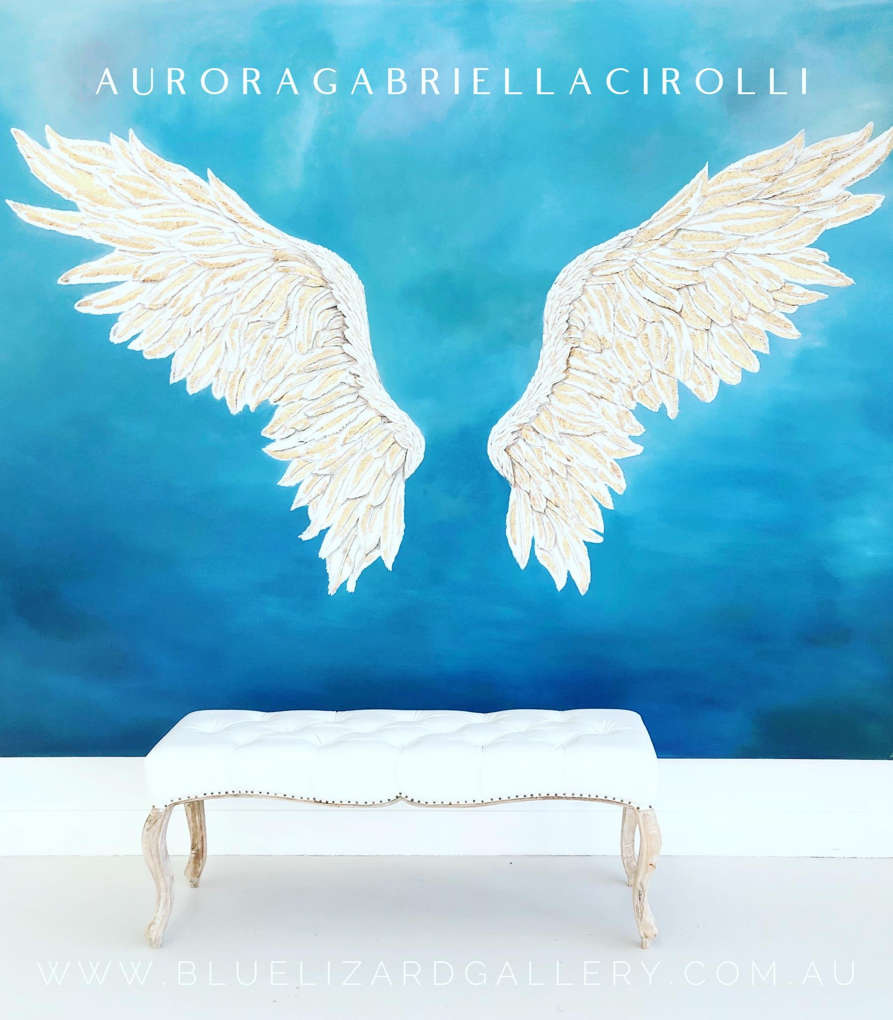 Wings of Freedom - Original Acrylic