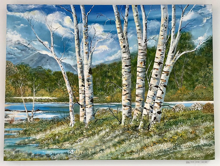 Silver Birch - Original Acrylic