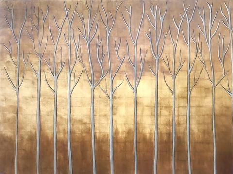 Original gold leave Lane by Leatitia Vil