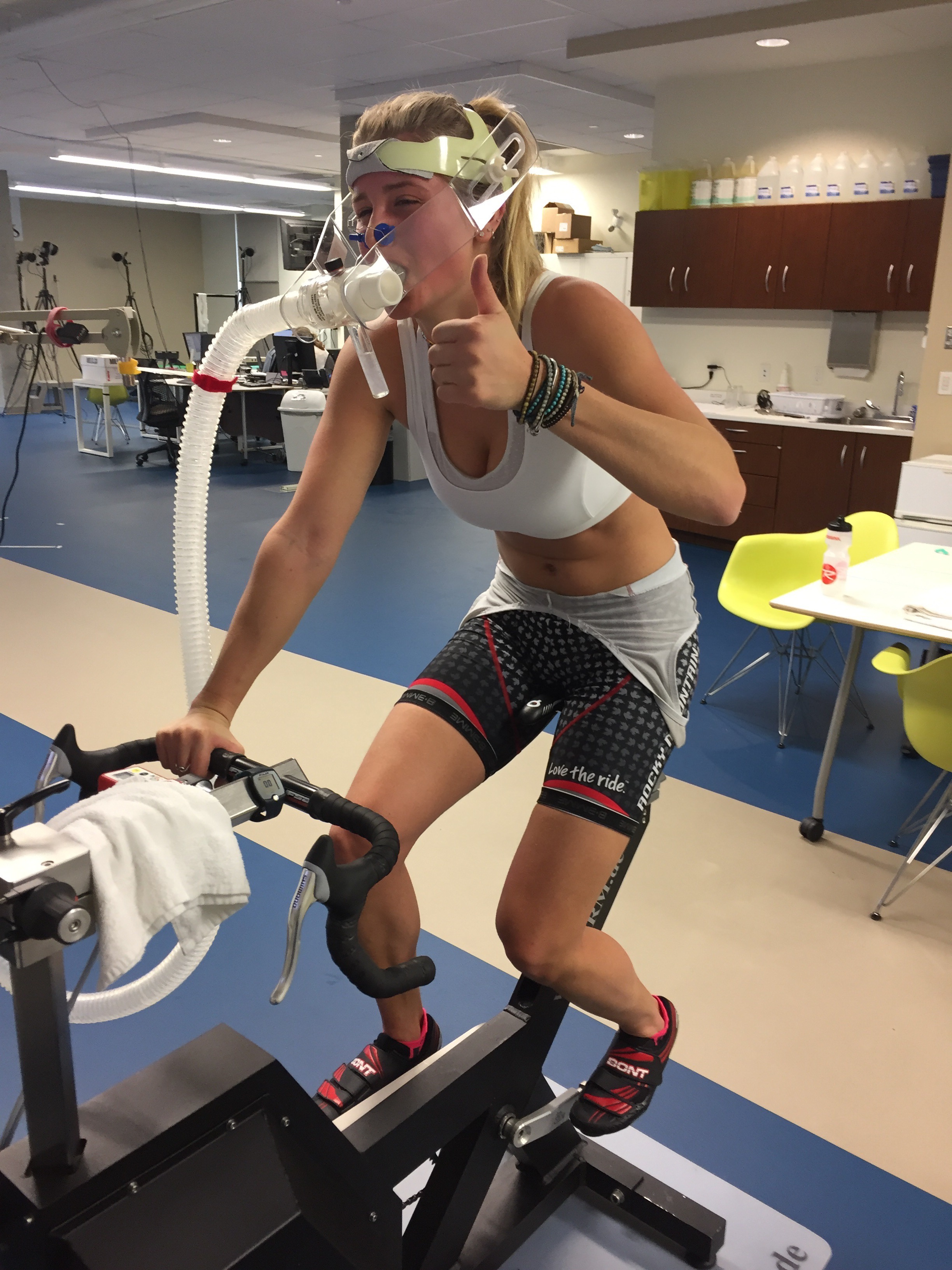 Fitness testing, V02 max bike test