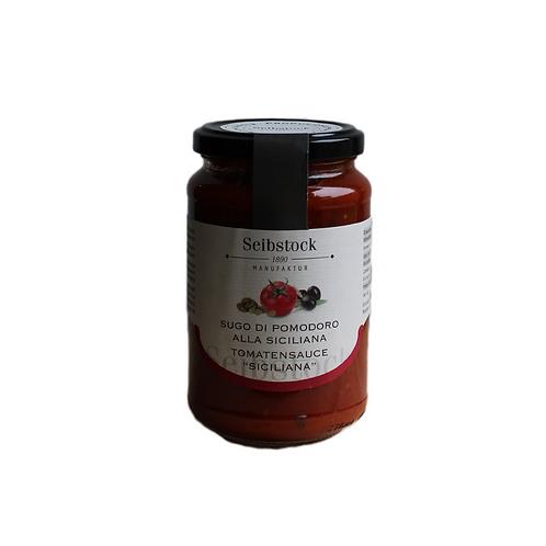Tomatensauce alla Siciliana mit Kapern und Oliven