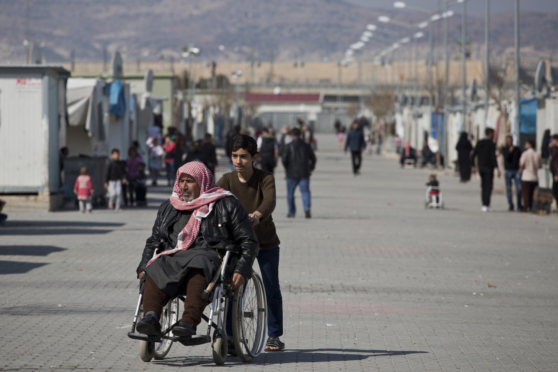 Refugiados siria
