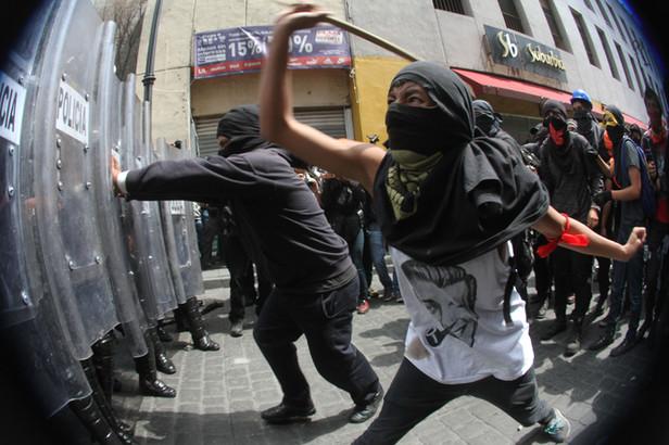 Disturbios CDMX