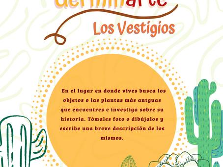 """""""LOS VESTIGIOS"""" Quinta actividad GERMINARTE"""