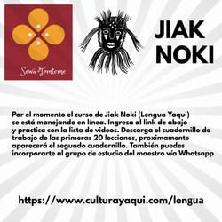 Clases de Jiak noki