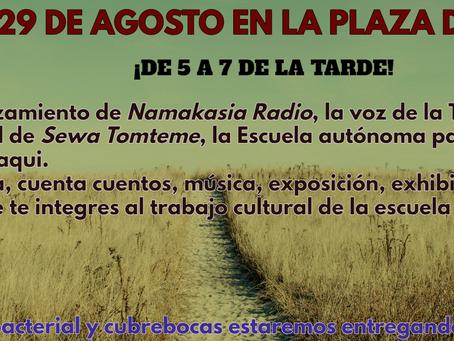 Re-lanzamiento de Namakasia Radio