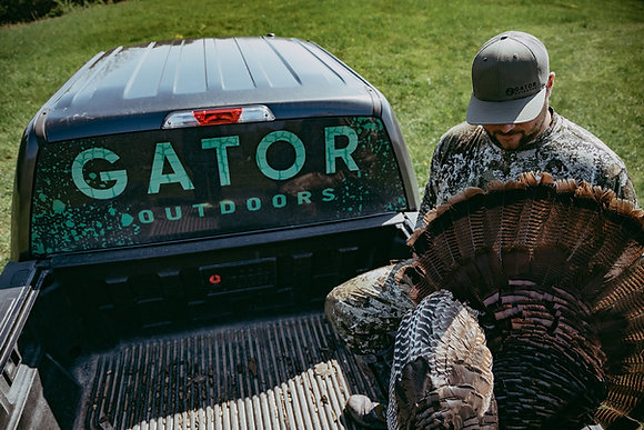 turkey season gator cap