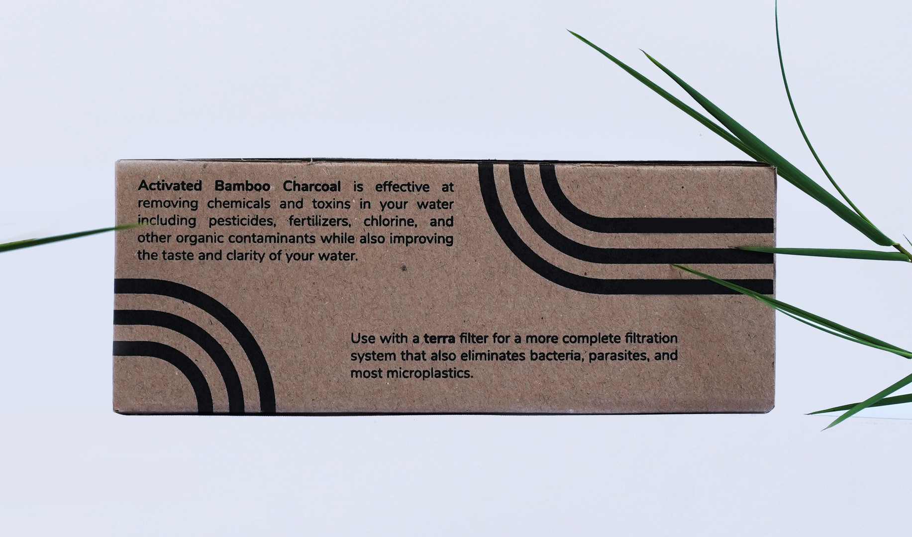 Actived Bamboo Charcoal Back