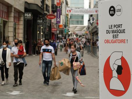 Meer dan 10.500 pv's voor inbreuken tegen coronamaatregelen in politiezone Brussel Hoofdstad-Elsene