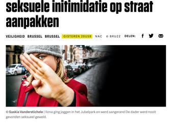 Goed dat Brusselse politie gehoor geeft aan mijn oproep en de strijd tegen seksisme opdrijft