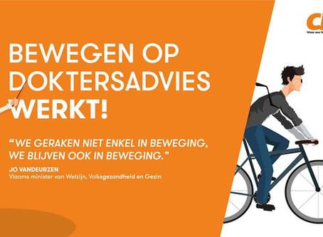 Bewegen is gezond! Anderlecht en Sint-Jans-Molenbeek doen mee aan Bewegen op Verwijzing.