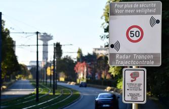 Aantal trajectcontroles in Brussels Hoofdstedelijk Gewest wordt verdubbeld