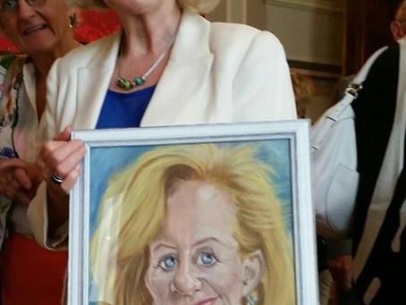 Brigitte Grouwels gehuldigd voor 25 jaar parlementair ambt
