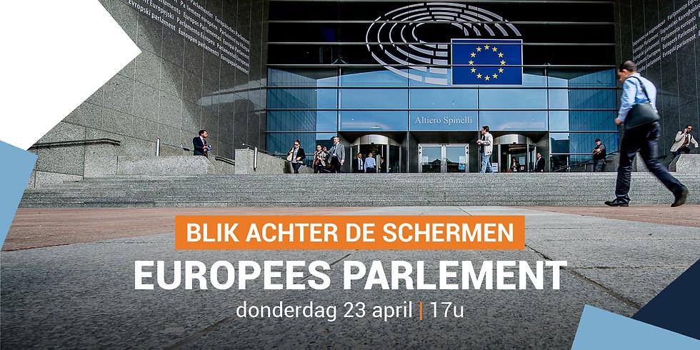 Bezoek Europees parlement