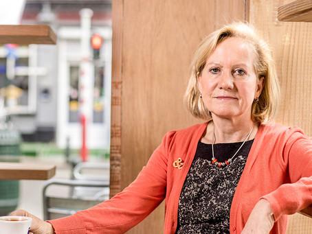 """Brigitte Grouwels: """"Een ketjes-stage voor laatstejaars scholieren middelbaar onderwijs"""""""