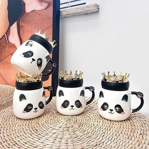 Taza panda rey