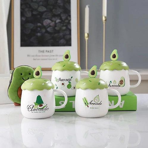Taza avocado