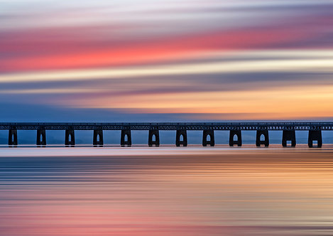 Tay Rail Sunset Sky