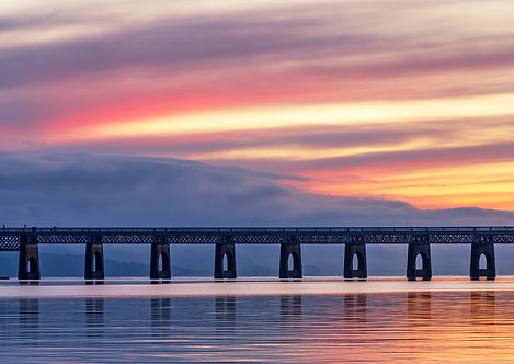 Sunset on the Tay