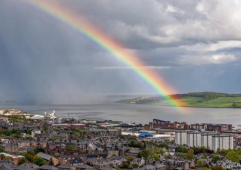 Rainbow on the Tay